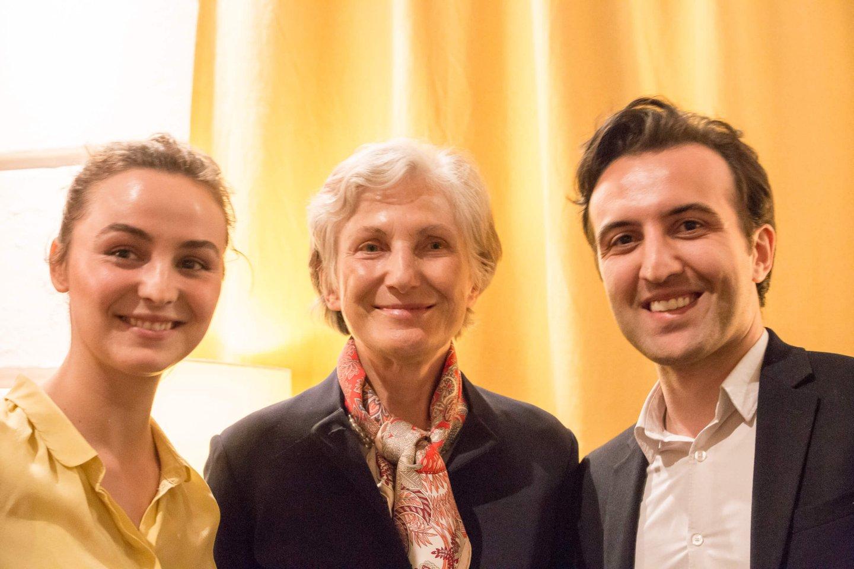 Irmgard Griss Studenten TALK Figlhaus Wien Akademie für Dialog und Evangelisation Brückenbauer gesucht - in einem gespaltenen Land