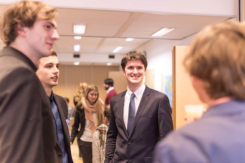 Ständige Vertretung Österreichs in Brüssel Studentengruppe