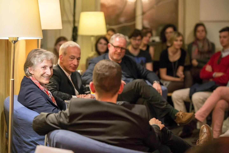 TALK mit ehem. Präsidentschaftskandidatin Irmgard Griss, Caritas-Präsident Michael Landau und Schauspieler Harald Krassnitzer.