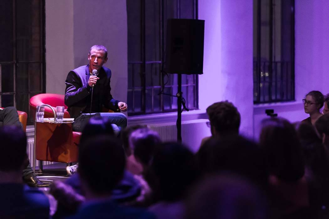 Populistenvormarsch in Europa Stefan Petzner WUK TALK Figlhaus Wien Studenten Akademie für Dialog und Evangelisation