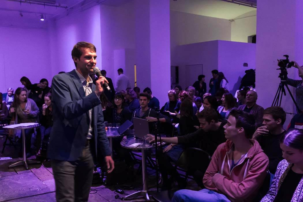 Populistenvormarsch in Europa Michael Frey WUK TALK Figlhaus Wien Studenten Akademie für Dialog und Evangelisation