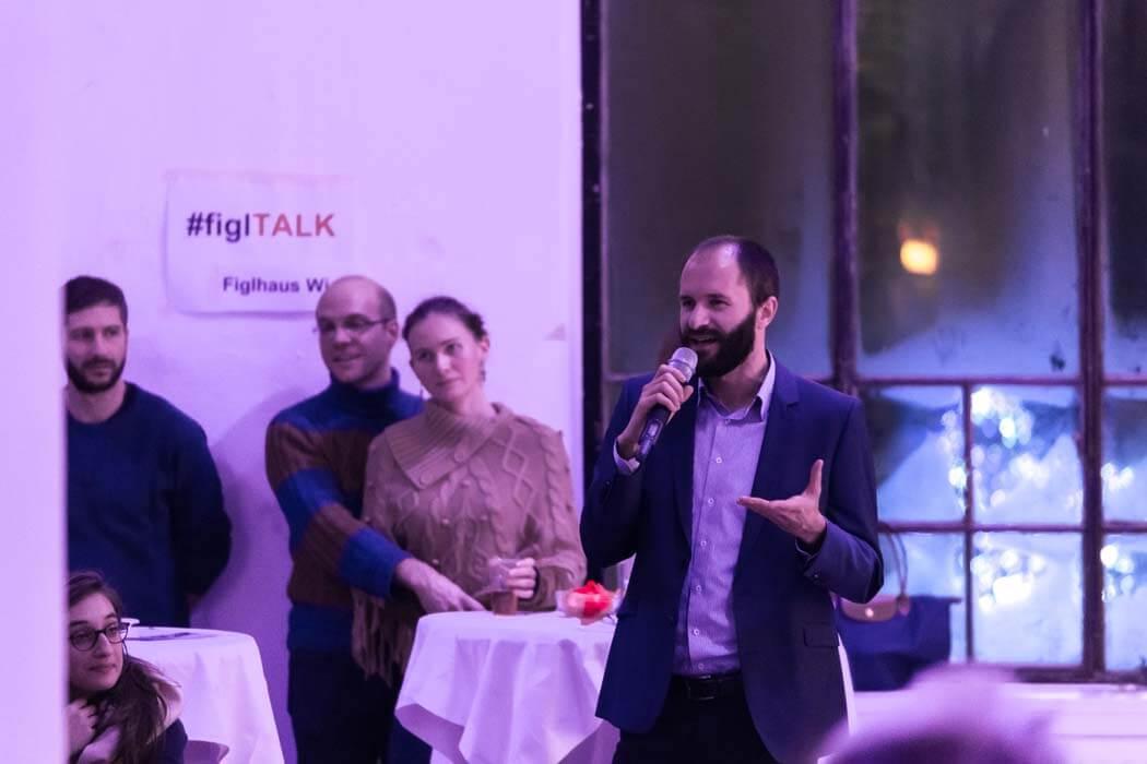 Populistenvormarsch in Europa Student Mikro Frage Statement WUK TALK Figlhaus Wien Studenten Akademie für Dialog und Evangelisation