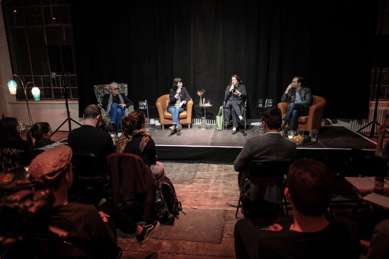 #myself podium publikum studenten studenten reinhold bilgeri tanja wehsely emmanuel fleckenstein talk wuk figlhaus wien akademie für dialog und evangelisation