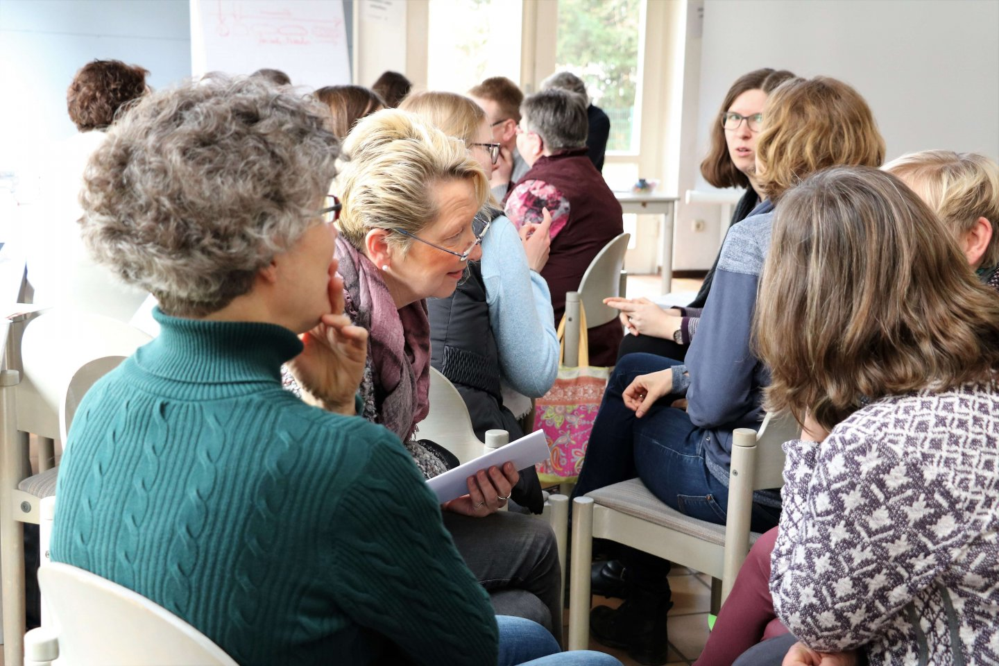 Mettingen Mission Possible on Tour Glauben Faszination wecken Christentum Diskussion Runde Frauen Figlhaus Wien Akademie für Dialog und Evangelisation