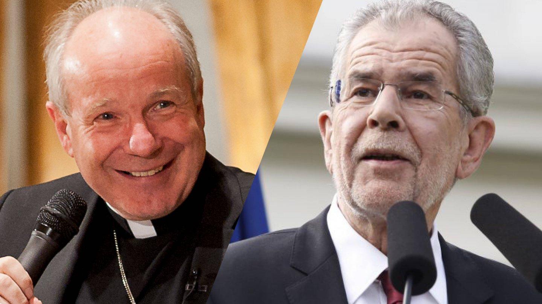 Auftaktforum Politisch Neu Denken Alexander Van der Bellen Kardinal Christoph Schönborn Initiative Bundespräsident 27. April 2018