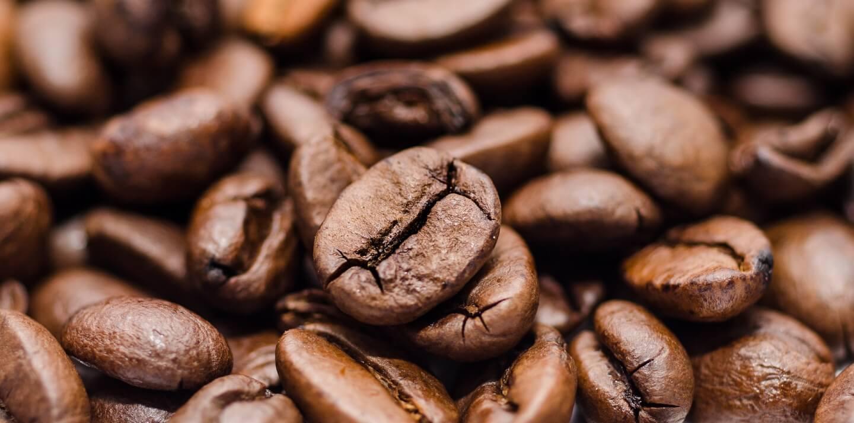 Das fertige Produkt - geröstete Kaffeebohnen